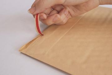 左右開封テープ付クッション封筒