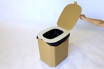 避難所用おしりにやさしい簡易トイレ